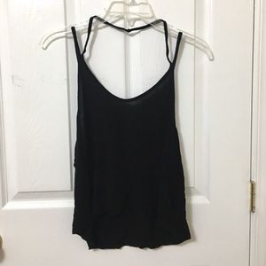 Brandy Melville Black Strappy Cami